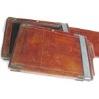 DOUBLE CHASSIS FOR 13x18 cm PLATES (MAHOGANY MADE)