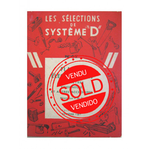 """SYSTEME """"D"""" (Book about Flashes)"""